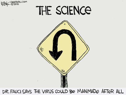 fauci science covid virus could be manmade after all uturn
