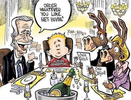 joe biden future generations debt deficit cafe