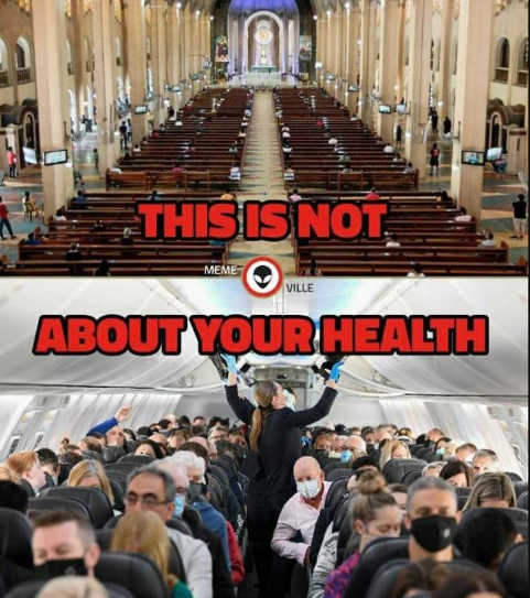 message church plane this is not about your health