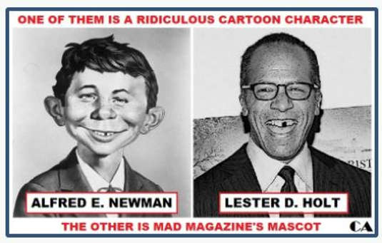newman lester holt mad magazine cartoon character