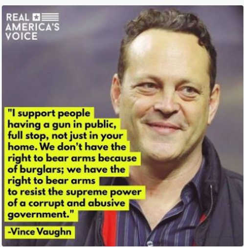 quote vince vaughn support gun rights resist corrupt abusive government