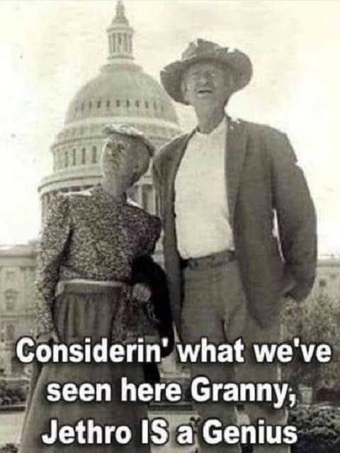 bevery hillbillies granny seen dc jethro is genius