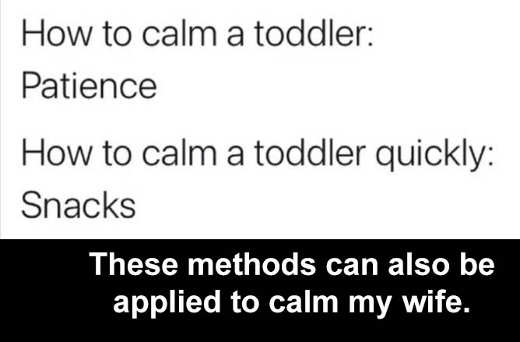 how to calm toddler snacks patience also works for wives