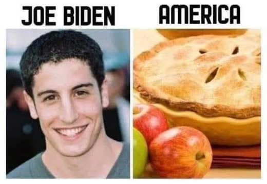 joe biden american pie apple america