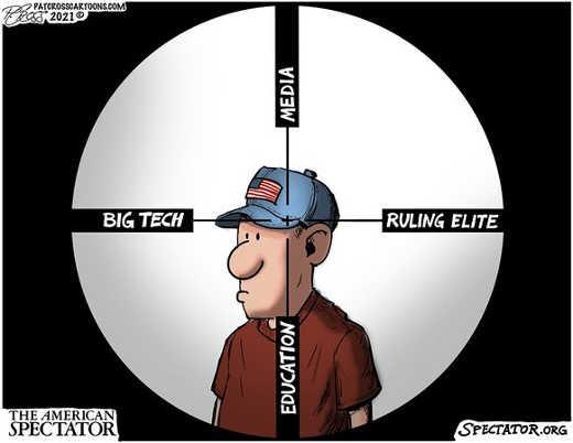 big tech media ruling elite education crosshairs american