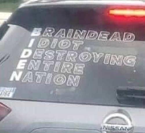 joe biden braindead idiot destroying entire nation