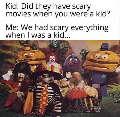 kids scary movies when kid everything mcdonalds