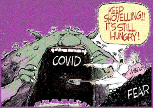 media keep feeding covid fear still hungry