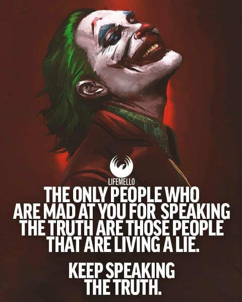 message only people mad speaking truth those living lie