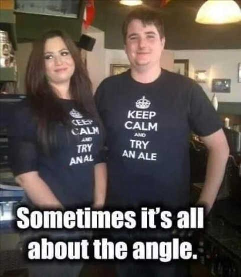 tshirts keep calm try anal an ale