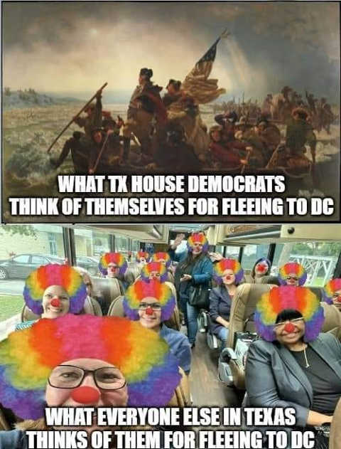 what texas house democrats think themselves washington everyone else