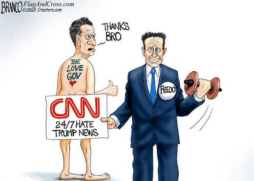 fredo andrew cuomo cnn 24 7 hate trump protecting brother