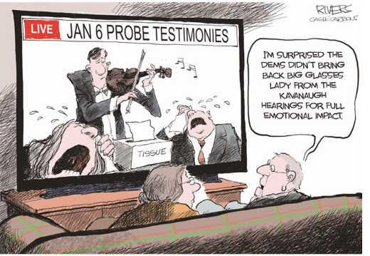 january 6th fake crying hearing