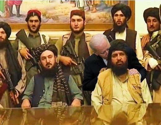 joe biden sniffing taliban
