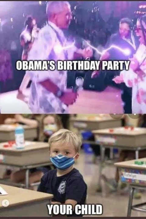 obama birthday party your child comparison masks