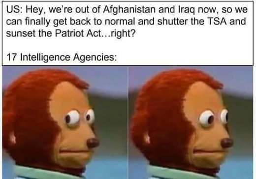 out of iraq afghanistan can get rights back intelligence agencies