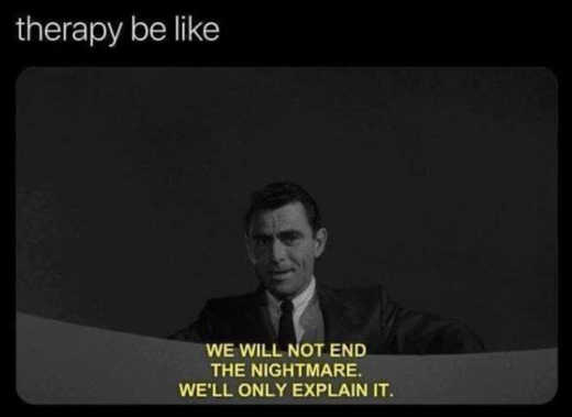 twilight zone therapy wont end nightmare just explain it