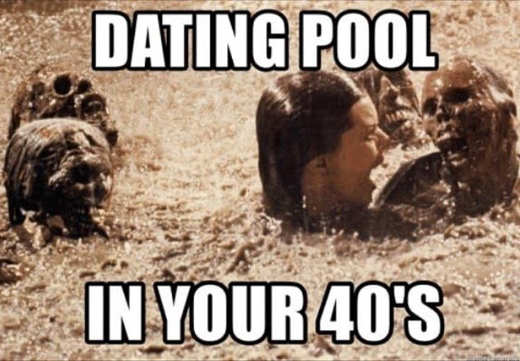 dating pool in your 40s horror movie