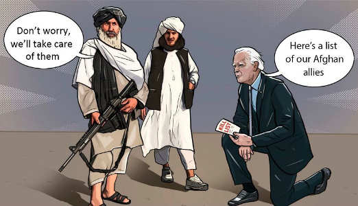 joe biden bowing taliban kill list