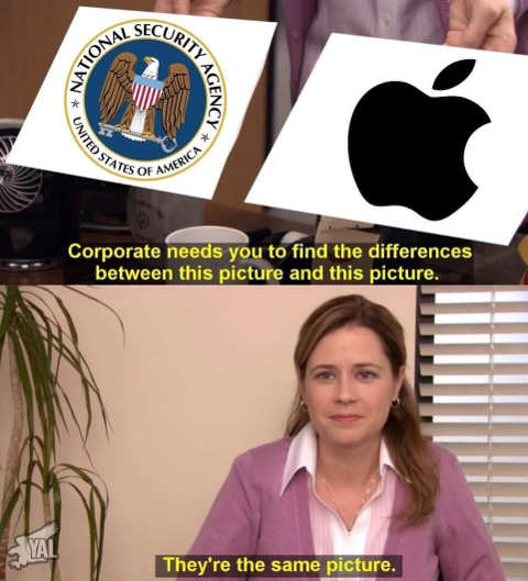 office corporate same picture nsa apple