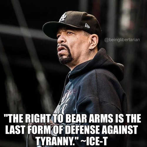 quote ice t right to bear arms last form defense against tyranny