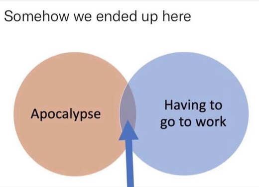 somehow ended up venn diagram work apocalypse