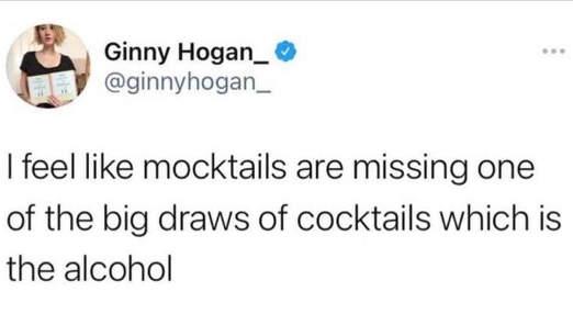 tweet ginny hogan mocktails miss draws of cocktails alcohol