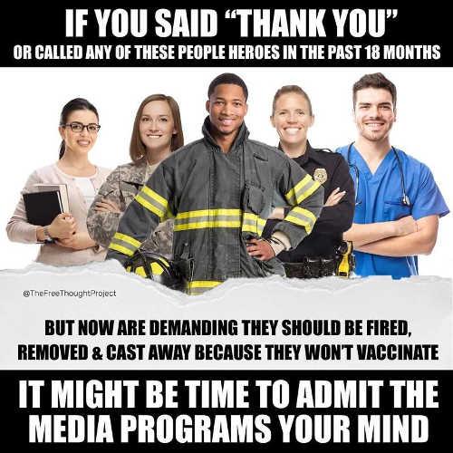 fireman soldiers nurses teachers police heroes but fire media programs mind