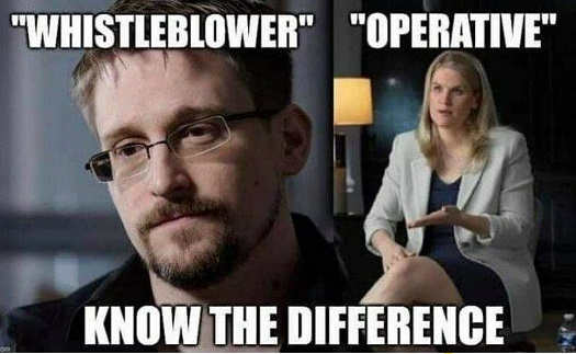 whistleblower snowden operative facebook know difference