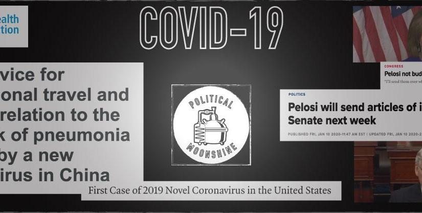 COVID-19, IMPEACHMENT AND THE W.H.O. BRAID TOGETHER LIKE A ROPE: Overlaying 3 timelines to demonstrate COVID-19 as a political construct shielded by the diversion of impeachment