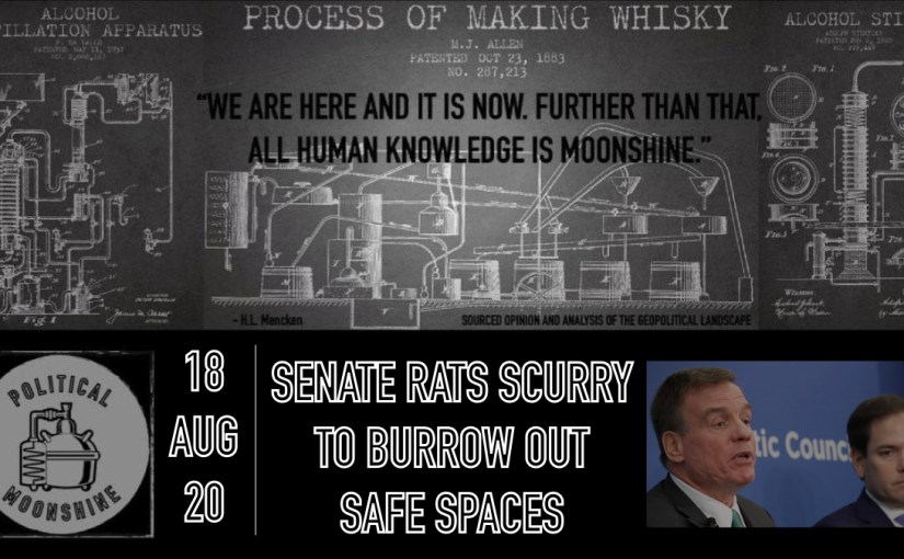 Senate Rats Scurry to Burrow Out Safe Spaces