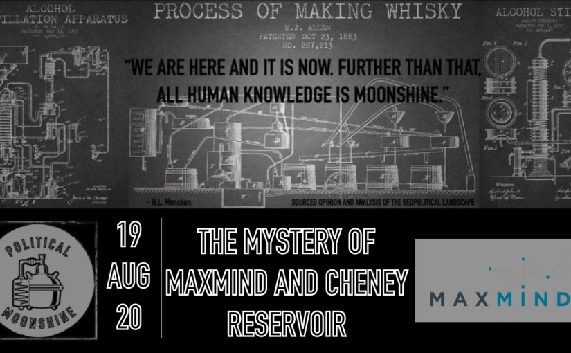 The of Mystery MaxMind and Cheney Reservoir