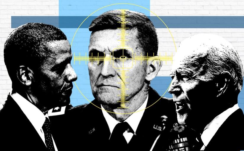 The GSA Targeted Flynn for FBI and Mueller