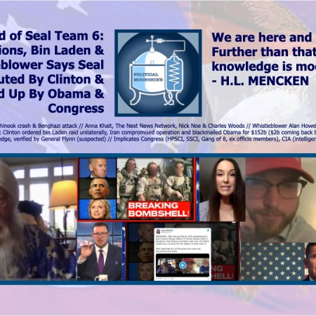 The Blood of Seal Team 6: Benghazi, Billions, Bin Laden and Bedlam, Whistleblower Says Seal Team 6 Executed by Clinton and Covered Up By Obama and Congress