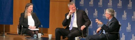 """Professor Gornick to Moderate """"Inequality in NYC and Beyond"""" with Mayor Bill de Blasio and Paul Krugman"""