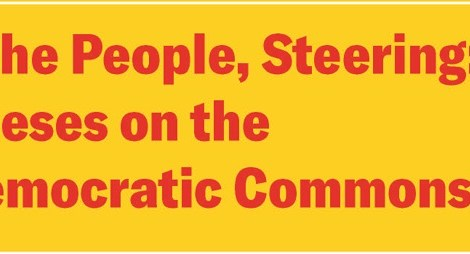 """Political Theory Workshop: Anne Norton, """"The People, Steering: Theses on the Democratic Commons"""" Thursday, November 21st, 4:30PM"""