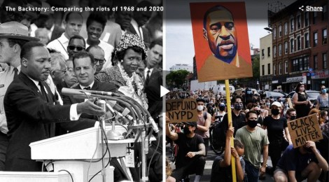 Prof. Michael Fortner on Politico: Comparing the uprisings of 1968 and 2020