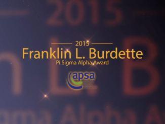 2015 Burdette Award