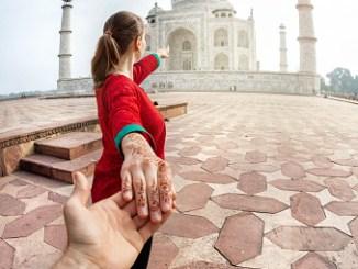 Follow me to Taj Mahal