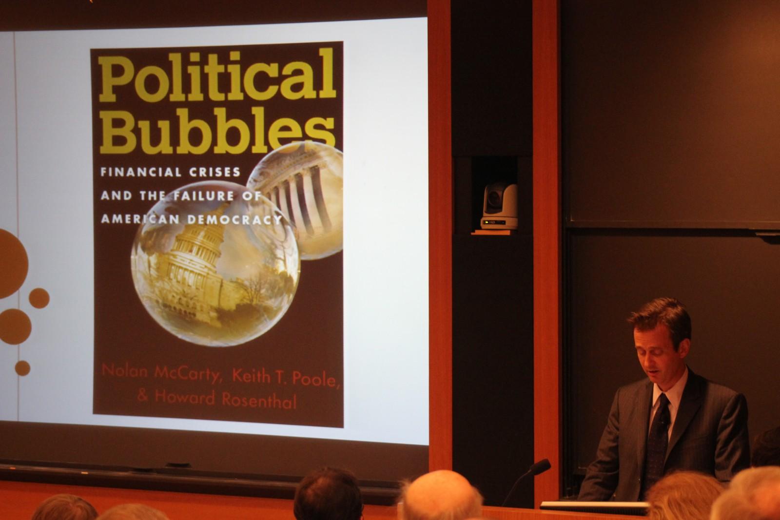 McCarty_Political Bubbles book talk_WWS