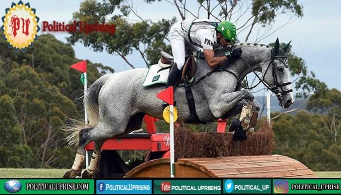 Pakistani rider Usman Khan rides Azad Kashmir to Olympics
