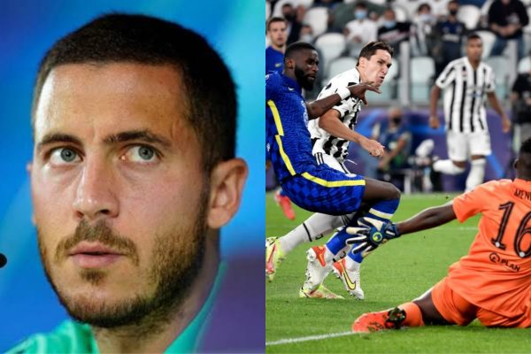 Eden Hazard Sends Message To Chelsea After Juventus Defeat Shows He Is Yet To Be Replaced