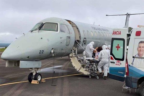 Voo com pacientes de Covid-19 já saiu de Manaus com destino a João Pessoa