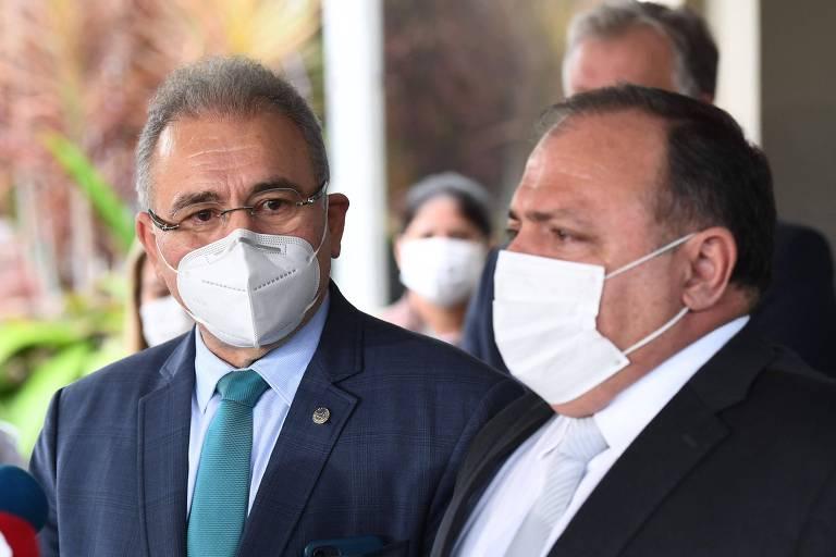 Em cerimônia discreta, Bolsonaro dá posse a Marcelo Queiroga, quarto ministro da saúde em um ano de pandemia