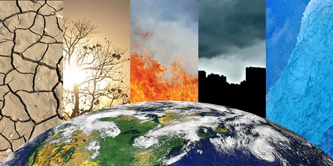 A catástrofe climática