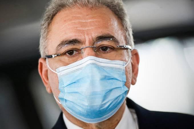 Ministro da Saúde Marcelo Queiroga é diagnosticado com covid-19 em NY