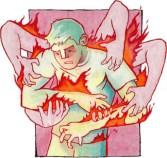 Robert Burch illustration coceira