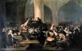 """A Inquisição e um """"acto-de-fé"""", por Francisco Goya Y Lucientes"""
