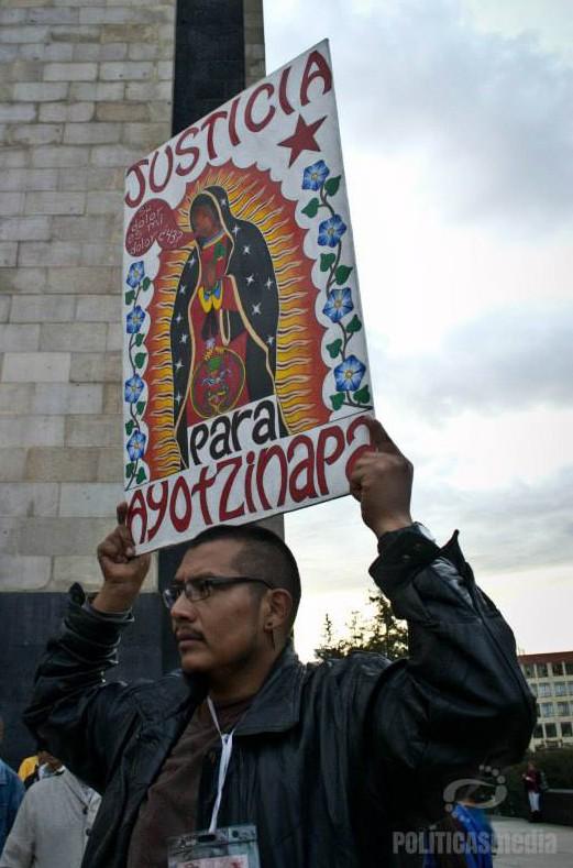 Fotografía: Nedelia Moguel | 26DMx Acción Global Ayotzinapa