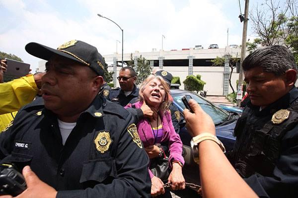 Bertha Hernández Gallegos, acusada de comprar votos en mil pesos